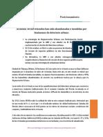 Posicionamiento Vivienda Invadida ARU 12.02.2019