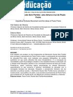 Escola Sem Partido a Luz de Paulo Freire