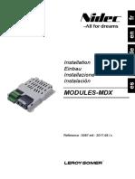 Modules MDX - Leroy Somer - 2017