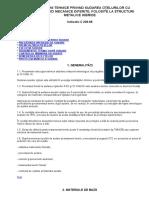 Instrucţiuni Tehnice Privind Sudarea Oţelurilor Cu Caracteristici Mecanice Diferite,Folosite La Structuri Metalice Hibride c228-88