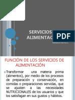 1.Administración de Servicios de Alimentaciòn