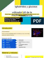 Índice triglicéridos y glucosa_ Indicador útil de la insulinorresistencia