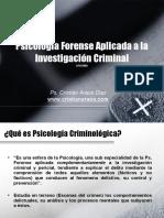 Psicologia Juridica Forense Aplicada 110130010126 Phpapp02