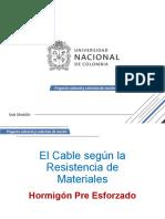 EL Cable Segun La Resistencia de Materiales