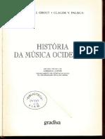 GROUT e PALISCA, História Da Música Ocidental (1)