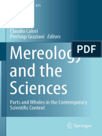 [Synthese Library 371] Claudio Calosi, Pierluigi Graziani (Eds.) - Mereology and the Sciences_ Parts and Wholes in the Contemporary Scientific Context (2014, Springer International Publishing)