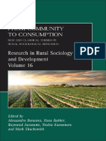 (Research in Rural Sociology and Development 16) Alessandro Bonanno, Hans Baker, Raymond Jussaume, Yoshio Kawamura and Mark Shuksmith (Editors) - From Community to Consumption_ New and Classical Theme