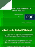 Funciones Esenciales de La Salud Pública.