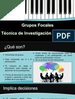 Grupos focales Presentación