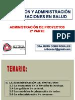 5a Sesión PyAOS Administración de Proyectos 2a Parte