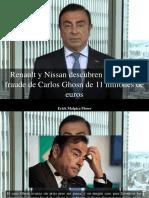 Erick Malpica Flores - Renault y Nissan Descubren Un Posible Fraude de Carlos Ghosn de 11 Millones de Euros