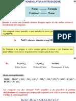 Nomenclatura molecole inorganiche