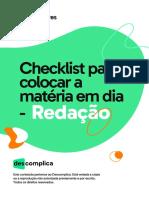 Checklist Materia Em Dia-red
