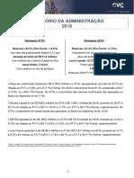 CVC Demonstrações Financeiras Anuais Completas - 2018