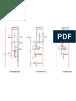 Escaleras Esquema Por Nivel Model