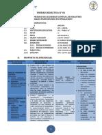 I Unidad Didactica - Matemática