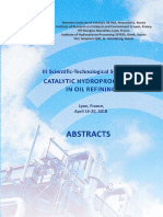 Catalytic Hydroprocessing in Oil Refining