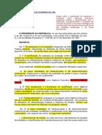 DECRETO Nº 2.487, De 2 de FEVEREIRO de 1998 - Qualificação de Autarquias e Fundações Como Agências Executivas