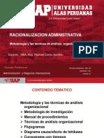 Semana 3. Metodologia y Las Tecnicas de Analisis Organizacional