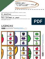 Tarjetas Adivina Que.percepcion Identificacion Visual
