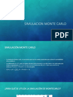 Simulacion Monte Carlo