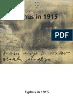 Typhus in 1915