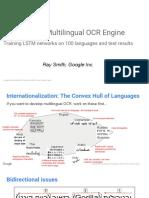 Building a Multi-Lingual OCR Engine
