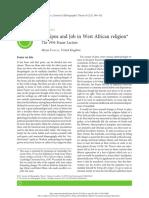 Édipo e Jó Na Religião Africana Ocidental