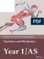Edexcel Y1 Mech and Stats