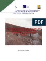 Documento de Divulgación Tacna