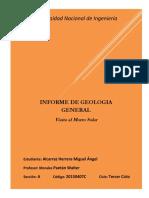 Geologia...Informe Del Morro2
