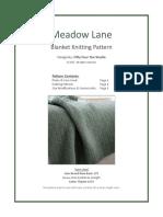 Meadow Lane Blanket by Fifty Four Ten Studio Nov 2017