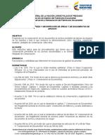 Instructivo de Foliacion de Documentos AGN