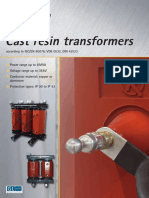Ruhstrat Cast Resin Transformers According to IEC en 60076 VDE 0532 DIN 42523 Product Catalogue