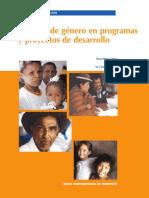 Enfoque de Genero en Programas1