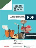Apostila de Teoria Musical - Projeto Fortalecimento Musical