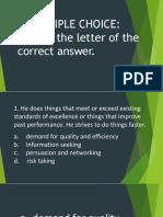3RDQUARTER Exam(Reviewer)