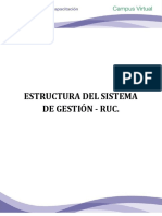 1. Estructura Del Sistema de Gestión - Ruc