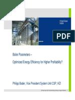 03a Boiler-Parameters P-Bader E