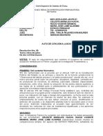 AUTO DE CITACIÓN A JUICIO ORAL.doc