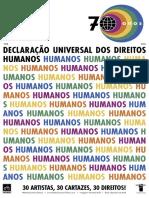 70 Anos Declaração Universal dos Direitos Humanos - Edição ilustrada Mutirão