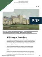 A History of Preterism – Israel My Glory