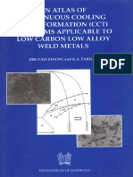 (B0638) Zhuyao Zhang, R. a. Farrar - Atlas of Continuous Cooling Transformation (CCT) Diagrams Applicable to Low Carbon Low Alloy Weld Metals (Matsci-Maney Materials Science (1995)