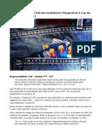 Responsabilidade Civil Das Instituições Financeiras à Luz Da Súmula 479 Do STJ