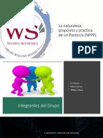 La Naturaleza, Propositos y Practica Del Pastor IIII Final-1