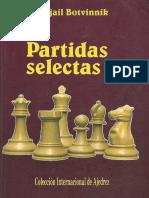 Botvinnik Mijail - Partidas Selectas-3, 1957-1970, 1992