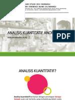 Analisis Kuantitatif Anorganik