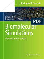 Biomolecular Simulations Methods and Protocols