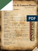El Tesoro Del Torreón Negro Pathfinder