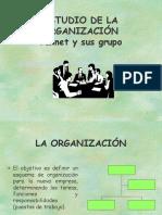 Organizacion de Un Proyecto de Inversion